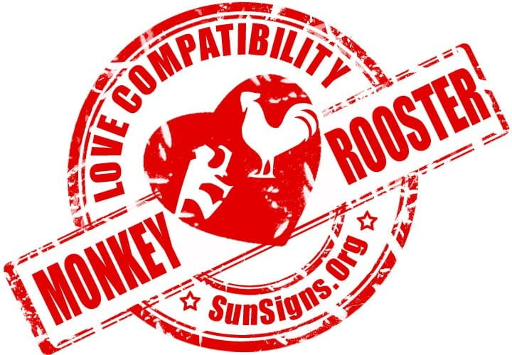 Chinese Monkey Rooster Compatibility.The monkey and rooster will have to learn to stop being so egotistical if they want their relationship to work.