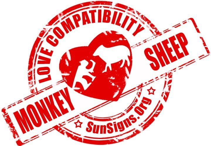 chinese monkey zodiac compatibility with sheep goat.The monkey and goat in love are perfectly capable of having a lot of fun together.
