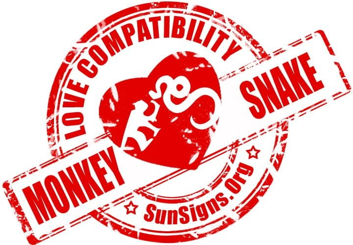 chinese monkey zodiac compatibility with snake. The Chinese zodiac monkey and snake are so different that they might not be able to get along.
