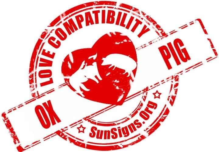 Ox Pig Compatibility. When the Ox is dating the Pig, they will be happy together.