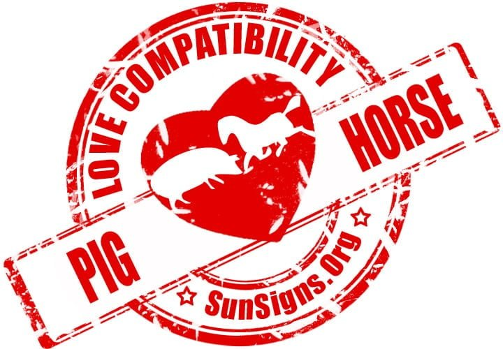 The Pig and Horse compatibility will need a lot of work and effort to make this love match work out.