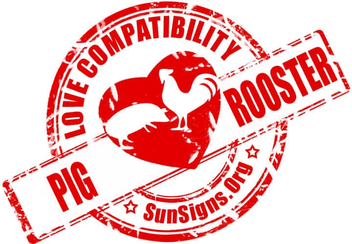 The Pig Rooster compatibility can go places, if both the Chinese zodiac signs make some effort.