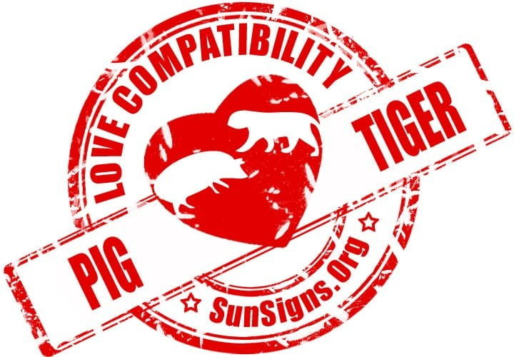 The Pig and Tiger relationship will work, but it will take tremendous effort by both parties.