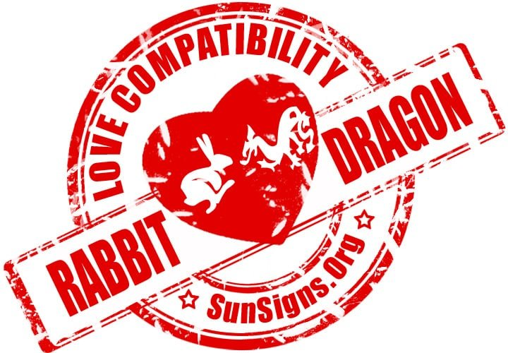 Rabbit Dragon Compatibility. Upon first glance the Chinese Rabbit Dragon relationship is not the most harmonious of matches, but that doesn't mean it will not work.