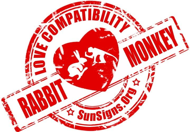 Rabbit Monkey Compatibility. The Rabbit Monkey relationship will be one with much potential for hostility - on both sides.