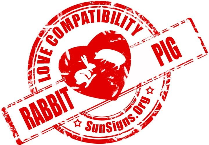 Rabbit Pig Compatibility. This  Rabbit and Pig relationship will be mutually beneficial.