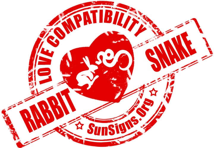 Rabbit Snake Compatibility. The rabbit snake relationship has potential, but will require dedication from both parties.
