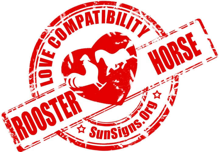 chinese rooster zodiac compatibility with horse. The rooster horse love compatibility between these two Chinese zodiac signs is wonderful.
