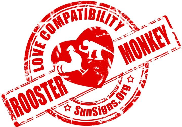 chinese rooster zodiac compatibility with monkey. The best bet for the Chinese rooster monkey compatibility to work out is finding common ground to strive for together.