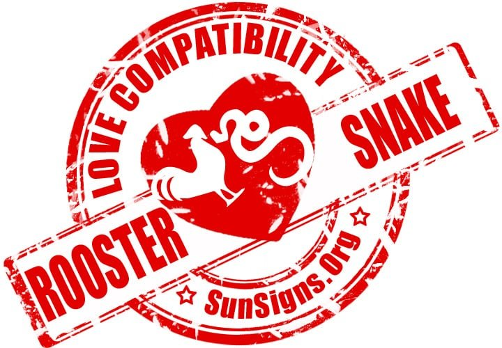 chinese rooster zodiac compatibility with snake. The Chinese zodiac compatibility between the rooster and snake is so good that they can form a pretty contented relationship.