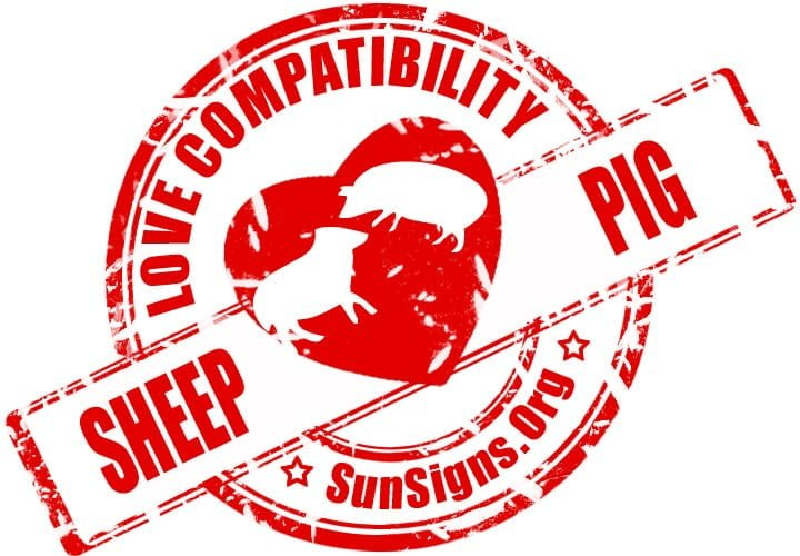 Chinese Sheep Pig Compatibility. The Pig and Sheep relationship can make for an excellent pairing.