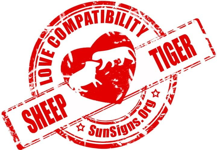 chinese sheep goat zodiac compatibility with tiger. In a Sheep and Tiger relationship, both can be compatible provided they are ready to make a few adjustments.