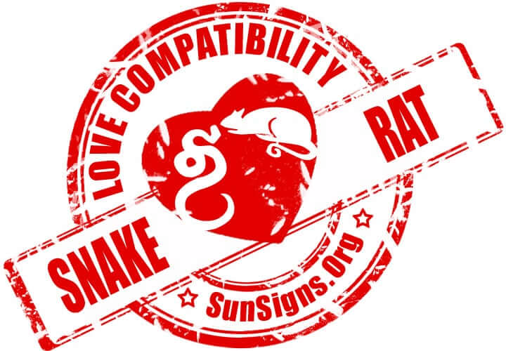 chinese snake zodiac compatibility with rat The snake and rat relationship can work out if they overcome their differences.