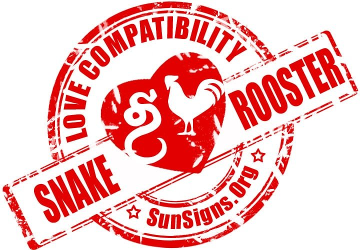 Chinese Snake Rooster Compatibility. The two Chinese zodiac signs of the snake and rooster in love could make a good couple.