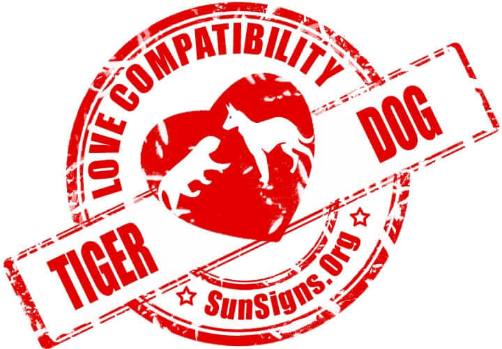 Tiger Dog Compatibility. The tiger and dog in love are very close to an ideal couple.