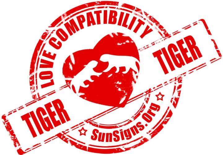 The tiger in a romantic relationship with another tiger could have a connection that is epic