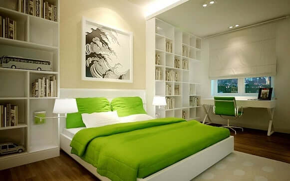 Feng Shui Tip number four relates to what colors you may pick for your room