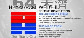 I Ching 64 meaning - Hexagram 64 Before Completing
