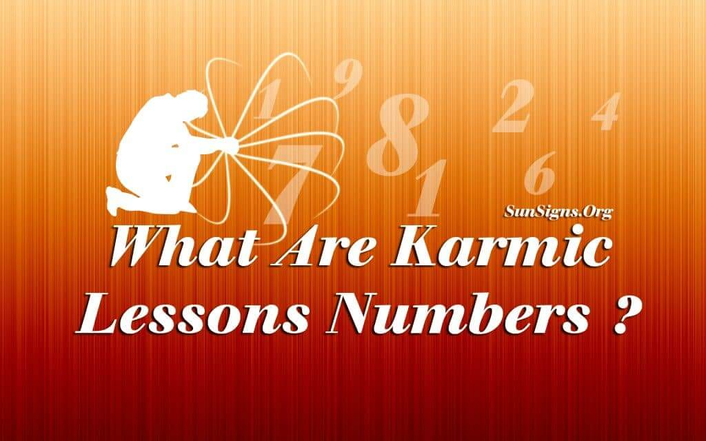The Karmic Lessons numbers in numerology signify your strengths and weaknesses