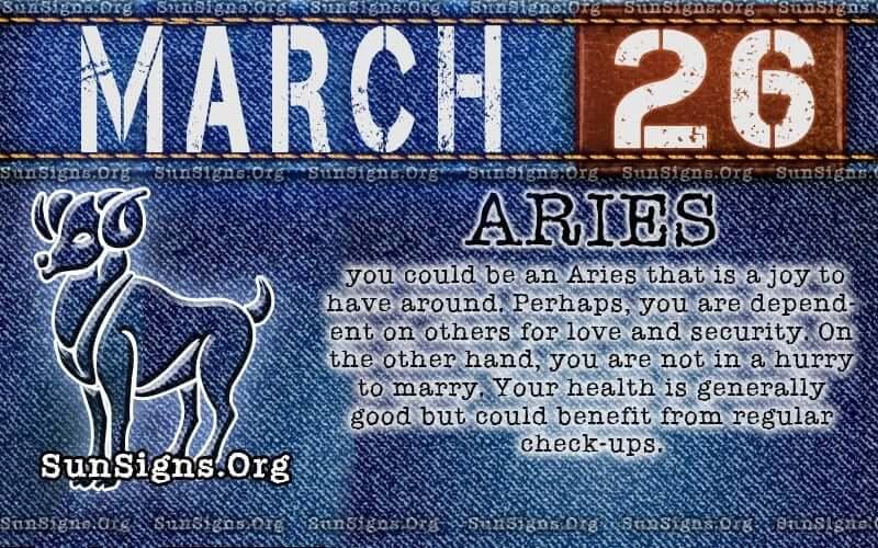 march 26 birthday