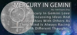 Mercury In Gemini Love Discussing Ideas And Philosophies With Others As Their Mind Is Always Racing With Different Thoughts.