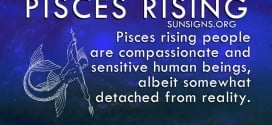 On the outside, Pisces rising is usually very quiet and often shy.