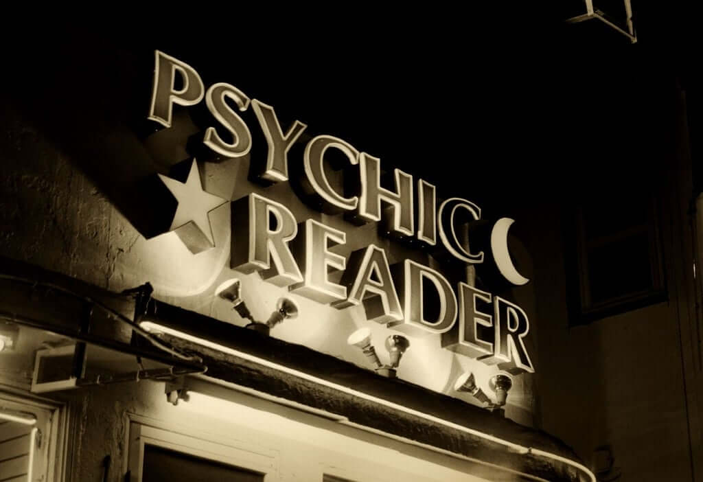 It is hard for a psychic to read another person