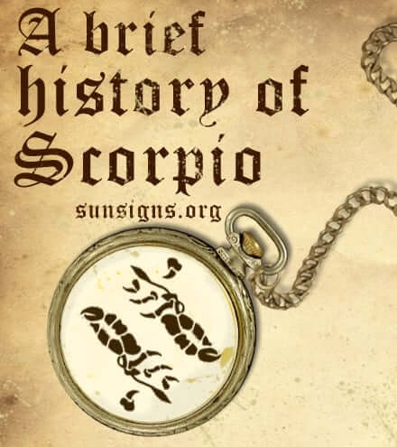 Those born between October 24 and November 22 fall under the eighth zodiac sign Scorpio.