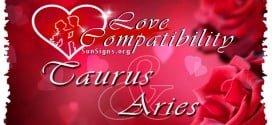 Taurus Aries Love Compatibility