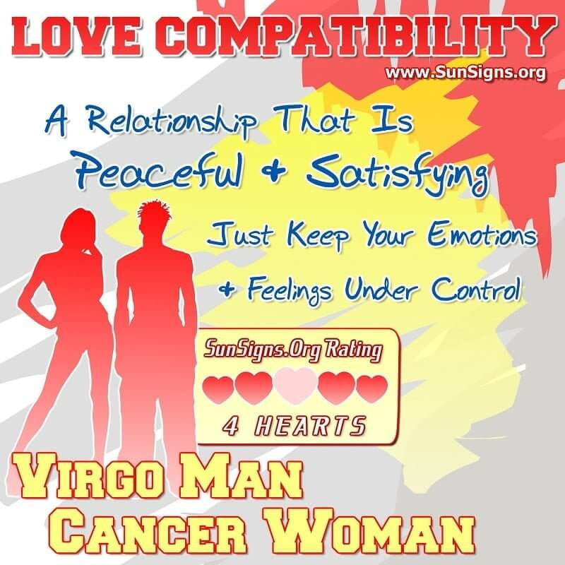 cancer and virgo relationship