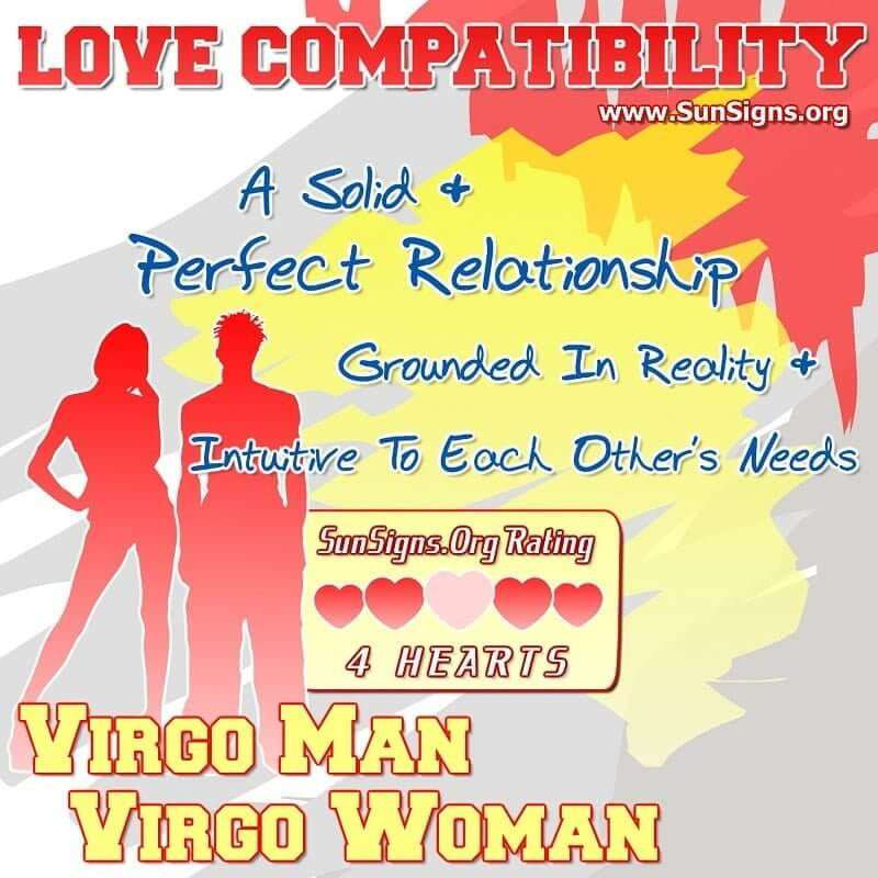 Virgo man and virgo woman sexually