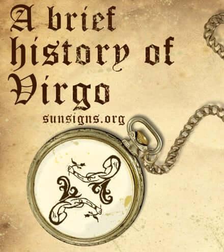 history of virgo sign