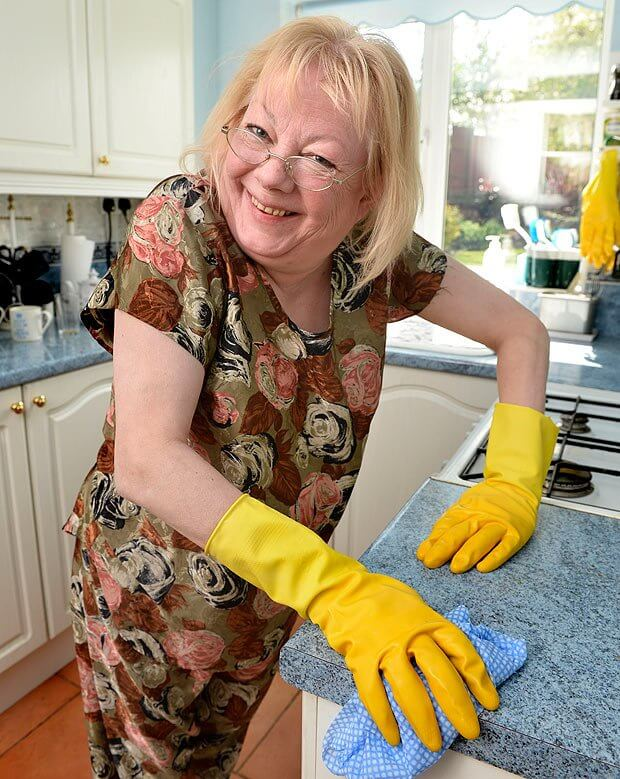 Many women who do more of the household chores