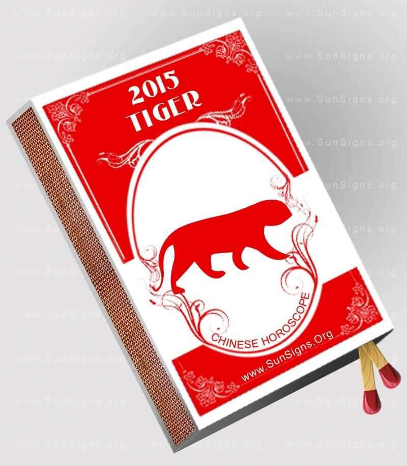 The 2015 Tiger horoscope predicts that you will not face any adversities or challenges during the Year of Wood Goat 2015.