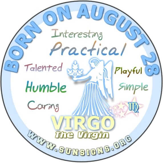 IF YOUR BIRTHDAY IS AUGUST 28, you are a humble person.