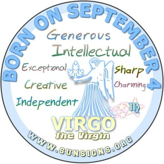 IF YOU ARE BORN ON SEPTEMBER 4, then you are gifted with a creative side that is unique and distinct.