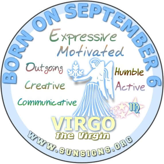 September 6 Zodiac Horoscope Birthday Personality | SunSigns Org