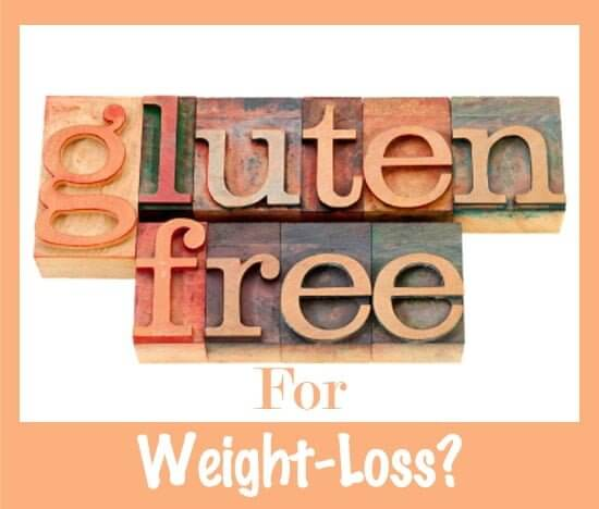 Gluten free diet causes weight loss