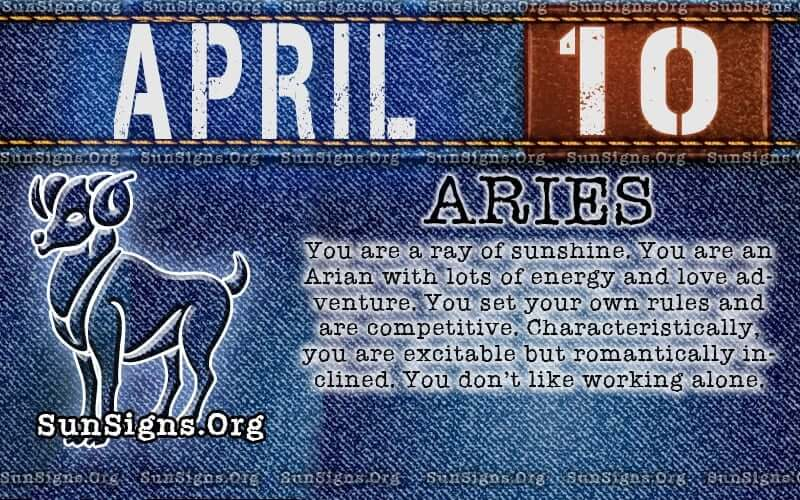 april 10 birthday