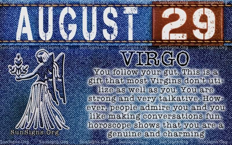 august 29 virgo birthday calendar