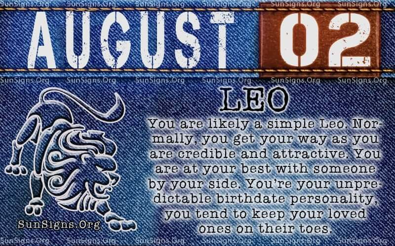 Born on August 2nd Horoscope: Lucky Numbers, Days, Colors, Birthstones, Tarot Card..