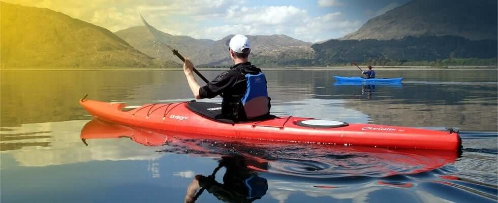 If you want to do exercise but would like something more adventurous, why not take up canoeing or kayaking.