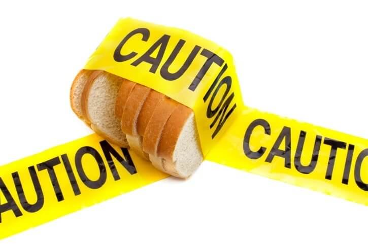 The clinical diagnosis of gluten intolerance is an autoimmune digestive disorder called celiac disease