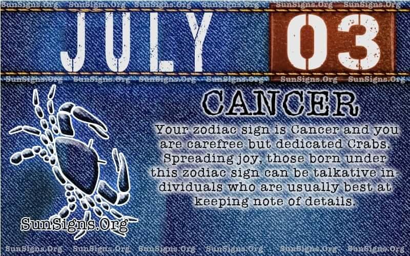 july 3 cancer birthday calendar