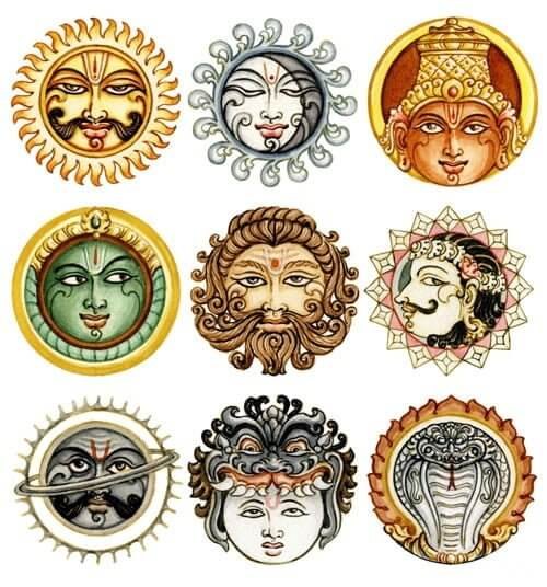 The influence of the planets or Grahas in Vedic Astrology is significant