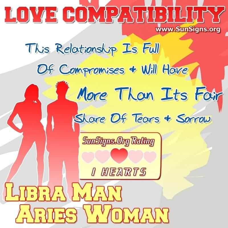 libra man aries woman