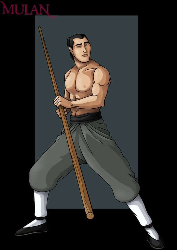 Li-Shang from Mulan is serious, determined and sometimes obsessive about his goals