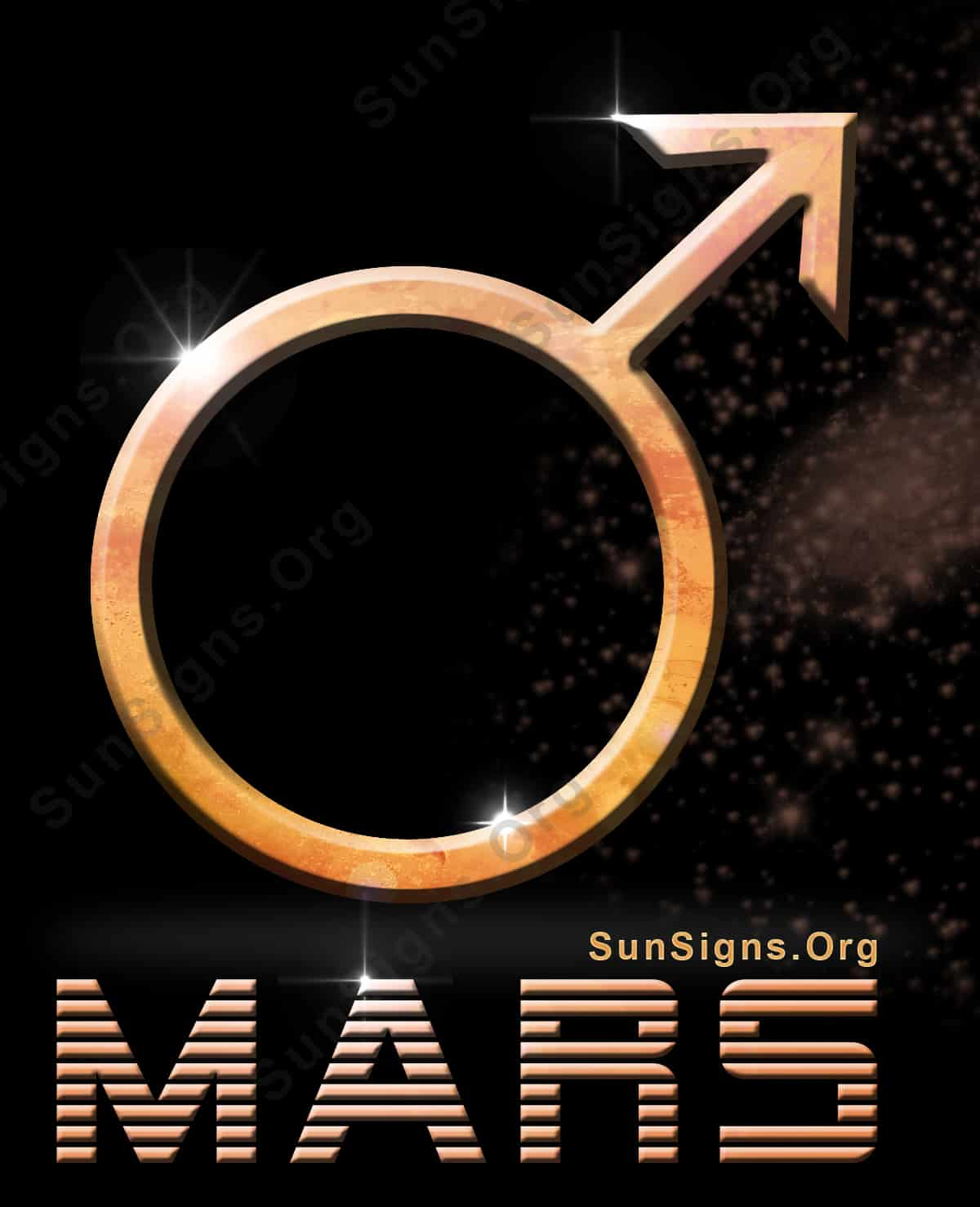 Mars will control energy and passion