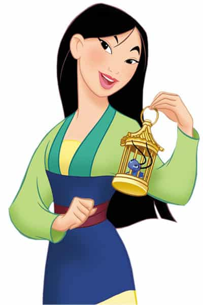 Mulan is adventurous, brave and sneaky