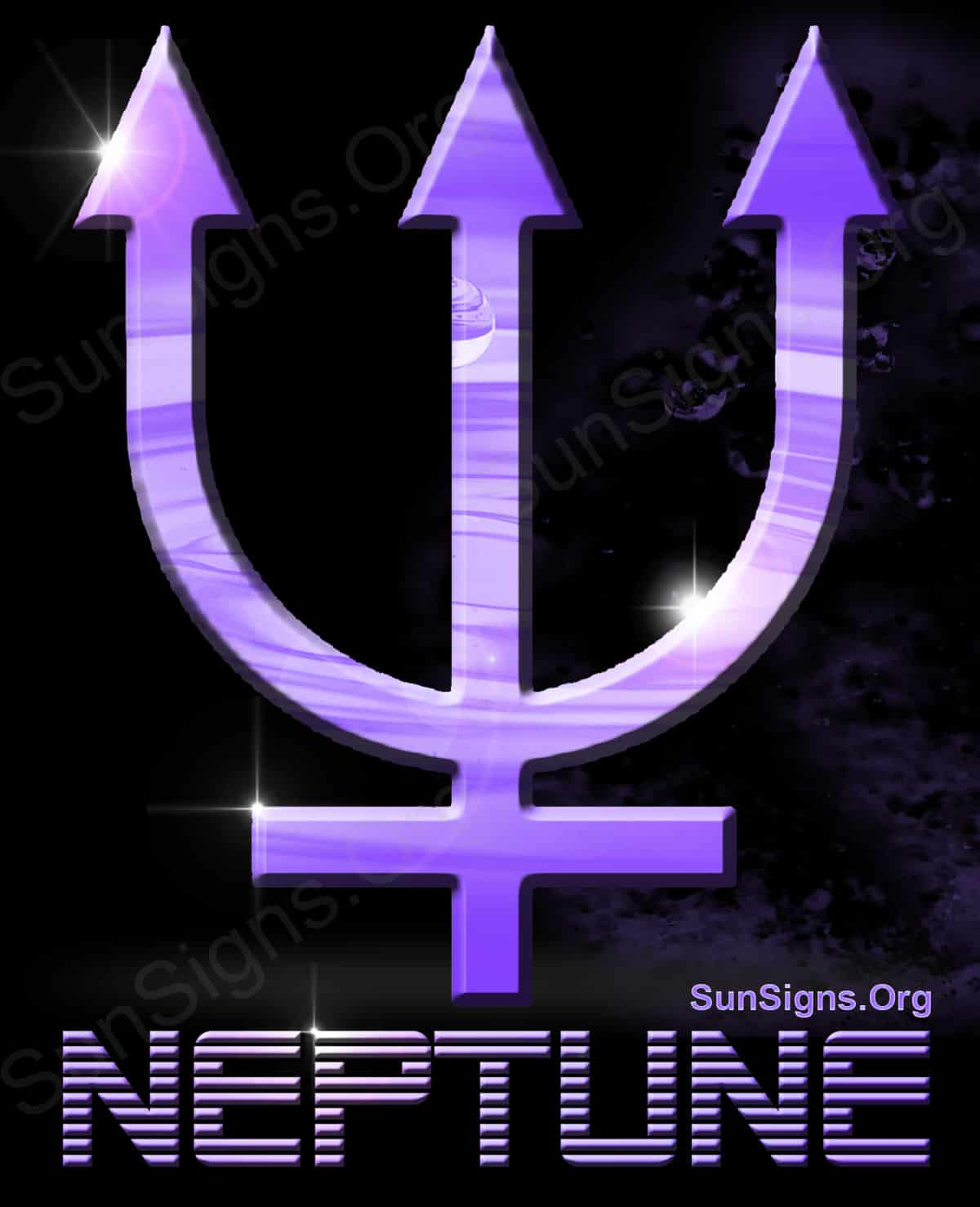 Neptune symbol meanings sun signs neptune has a side that is more dramatic biocorpaavc Gallery
